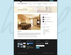 Web Hotel Playa Canet - Habitaciones. #diseñoweb #paginasweb #DiseñadorWebValencia #DiseñadorWeb