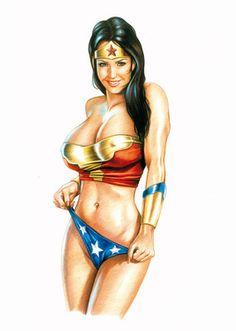 Wonder Woman Erotica 72