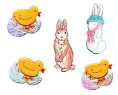 artist patti paige cookies | Cookie- Easter- Patti Paige | Food | Pinterest