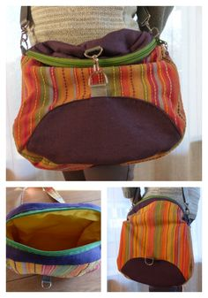 Le sac transformable Limbo cousu par Martine - Patron de couture Sacôtin