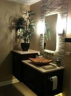 Spa themed bathroom spa bathroom decor spa bathroom decor ideas best zen bathroom decor ideas on Tropical Bathroom Decor, Bathroom Spa, Bathroom Interior, Bathroom Ideas, Zen Bathroom Decor, Bathroom Colors, Brown Bathroom, Bathroom Lighting, Design Bathroom