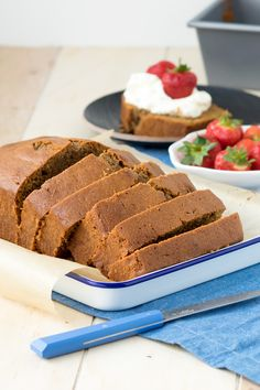 Coffee Madiera Cake - a spin on the British classic | The Worktop  #British #cake