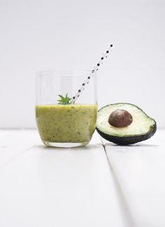 Green Avocado Petersilie Smoothie - voll gut und gut voll -06