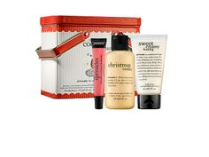 Philosophy's #holiday gift set is festive and won't break the bank. #beauty #skincare