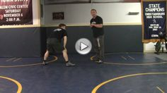 Gable Style Downblock Drill Opt-In Attack Style Wrestling by Daryl Weber