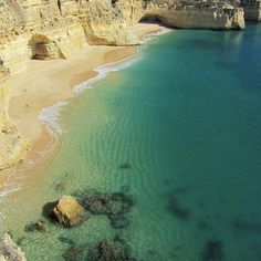 Praia da Malhada do Baraço (Lagoa) - Portugal