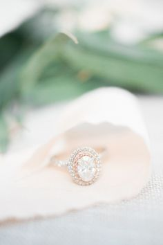 Looking for a rose gold engagement ring? Rose gold engagement rings are some of the sweetest trends we've seen recently in the engagement world. Here's a collection of our favorite rose gold rings. Double Halo Engagement Ring, Dream Engagement Rings, Rose Gold Engagement Ring, Solitaire Engagement, Wedding Rings Rose Gold, Wedding Jewelry, Gold Wedding, Fancy, Ring Verlobung