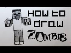 Ep. 79 How to draw a Minecraft Zombie