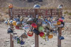 Teakettle Junction, Death Valley National Park