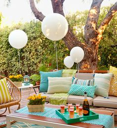 What you never see on Pinterest: the tired and possibly broke woman who threw that elaborate soiree for 50. Do it the laid-back REDBOOK way and you won't even break a sweat (until you start dancing, that is).