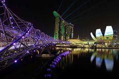 Helix Bridge, Singapore - Suhaimi Abdullah/Getty Images