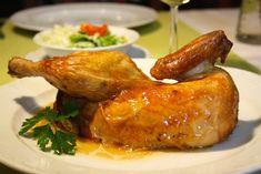 Gefülltes Brathendl – Andi Wojta Turkey, Meat, Food, Food Menu, Carrots, Food And Drinks, Turkey Country, Essen, Meals