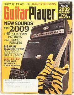 Guitar Player Magazine Randy Rhoads Gear New Sounds Rock Boot Camp May 2009 Rare