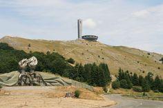 Bulgarie - Mont Buzludzha - Salle des Congrès du Parti Communiste Bulgare