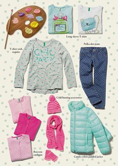 Autumn 14 - Kid Collection: Candy Colors. Find it out on: http://www.benetton.com/blog/2014/08/05/candy-colors/