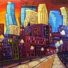 cityscape art - Google Search