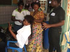Mobile Salon project - Kwame Nkrumah University of Science and Technology Enactus