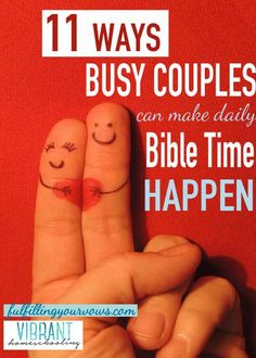 """Blog post at Fulfilling Your Vows : I reached across the bed and squeezed my husband's hand.  """"We'll get through this, babe,"""" he said. """"Let's pray and ask God for[..]"""