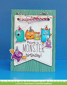 monstermash3_LynnetteKauffman by Lawn Fawn Design Team, via Flickr