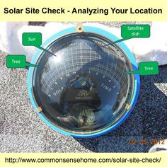 Solar Site Check - Analyzing Your Location