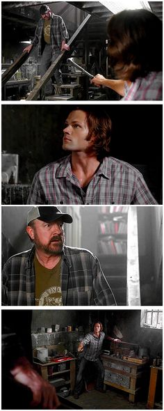 [gifset] 7x01 Meet The New Boss  #Sam #Bobby