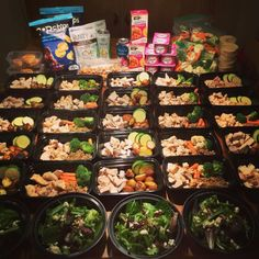 """How was everybodys Meal Prep Mondays?! Loving this epic...  How was everybodys Meal Prep Mondays?! Loving this epic meal prep done by  @kellymacdonald9  doing work! - """"  Meal Prep Monday  Set aside a few hours and prepare for your week! Stop the New Years diet fads and just eat a balanced healthy lifestyle. """"  What are you waiting for?! Get started with the essential meal prep containers and tools found on our website! (Bio link)  Follow & Tag us in your meal preps for a chance to get…"""
