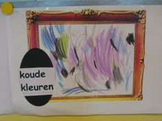 Kunst met kinderen on pinterest kunst keith haring and the scream - Warme koude kleuren ...