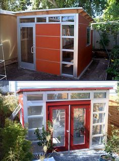 From Studio Shed:  10x12 top  7x12 bottom on The Owner-Builder Network  http://theownerbuildernetwork.co/wp-content/blogs.dir/1/files/sheds-1/10x12-top_7x12-bottom.jpg