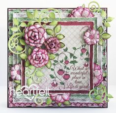 Heartfelt Creations | Wonderful Fuchsia Blooms