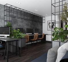 Office Reception Design, Small Office Design, Corporate Office Design, Industrial Interior Design, Office Interior Design, Office Interiors, Conference Room Design, Cozy Home Office, Retail Interior