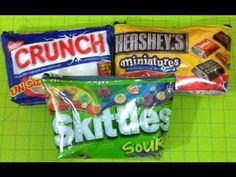 DIY Candy Bag Tutorial!  -- MUCH better tutorial than the other one I found.