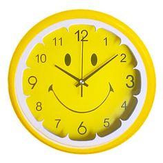 12H Lemon Smiley Face Wall Clock http://ltpi.co.nf/?item=527746