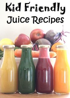 Fruit and veg juice children