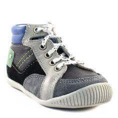 051A BABYBOTTE FLIPPER NOIR www.ouistiti.shoes le spécialiste internet de la chaussure bébé, enfant, junior et femme collection automne hiver 2015 2016