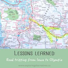 Lessons Learned: Road Tripping from Iowa to Olympia - Exploring Alternatives Oak Harbor, Lessons Learned, Olympia, Iowa, Exploring, Road Trip, Learning, Blog, Road Trips