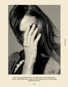 Phoebe Philo the British fashion designer and the Creative Director of Céline.