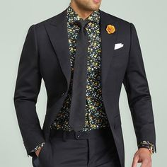 Check out this new Mondo black suit from @Grandfrank_official