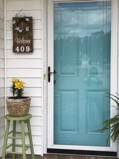 Address Numbers on this Wooden welcome sign is a great way to show off your house numbers with this rustic wood sign, Not just a address plaque but comes with a welcome wreath. A great home décor wreath can be changed out on this wood welcome sign with the seasons.  Welcome wreath sign can be adde