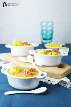 Blumenkohl-Linsen-Curry mit Moringa / Cauliflower lentil curry with moringa