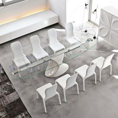 Shanghai Oval Extension Table