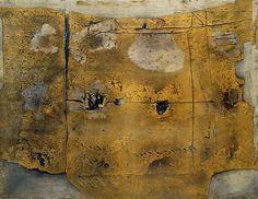 "guggenheim-art: "" Great Painting by Antoni Tàpies, Guggenheim Museum Size: cm Medium: Oil with sand on canvas Solomon R. Guggenheim Museum, New York © 2016 Fundació Antoni Tàpies/Artists Rights Society (ARS), New York/VEGAP,. Tachisme, Art Espagnole, Modern Art, Contemporary Art, Art Informel, Museums In Nyc, Spanish Artists, Spanish Painters, Guernica"