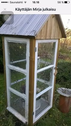 Cottage Garden Sheds, Outdoor Structures, Mini, Crafts, Lawn And Garden, Manualidades, Handmade Crafts, Craft, Arts And Crafts