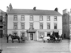 Hotel, Letterkenny, Co. Photo by Robert French. Vintage Posters, Vintage Photos, Ivy Rose, Erin Go Bragh, Donegal, Book Of Life, Belfast, Vintage Photography, Poster Vintage