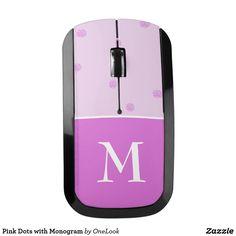 Pink Dots with Monogram