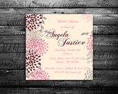 "Wedding invitation, ""Bridal shower announcement"", ""Save the Date card"", ""Wedding name card"", ""Thank you card"", ""RSVP response"".. $8.88, via Etsy."