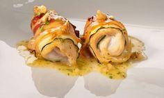 Varomeando: Popieta de pechugas de pollo con calabacín y beicon