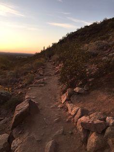 Sunrise trails