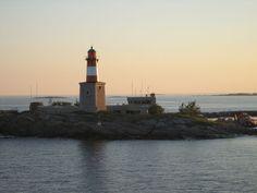 Lighthouse Harmaja - Harmajan Majakka Ja Luotsiasema - Helsinki Picture Gallery - Photo Gallery - Images