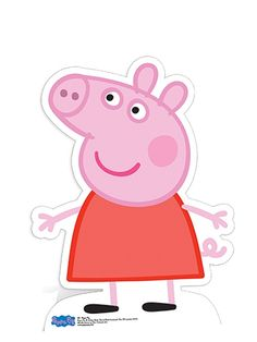 peppa pig birthday large cut outs | Peppa Pig Party Time Life Size Cutouts & Scene Setters