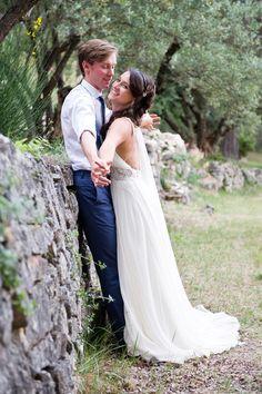 un mariage en provence, plein de DIY, et une robe Jenny Packham par Gaëtan Gaumy